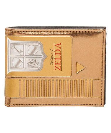 Loving this The Legend of Zelda Gold NES Cartridge Bifold Wallet on #zulily! #zulilyfinds