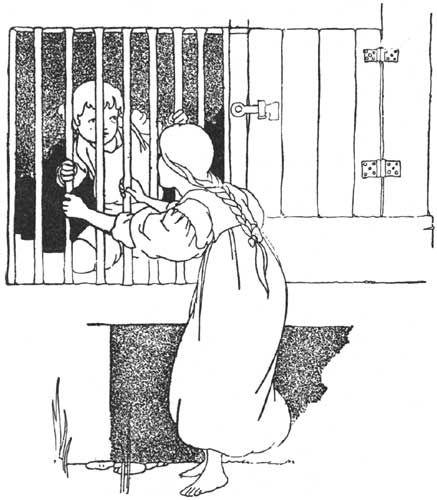 Charles Heath Robinson - Hansel and Gretel - The Big Book of Fairy Tales - 1911