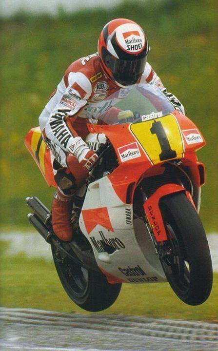 Wayne Rainey - 1991 Marlboro Team Roberts Yamaha.