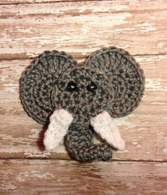 Hooking Housewives: Elephant Applique - Free Pattern