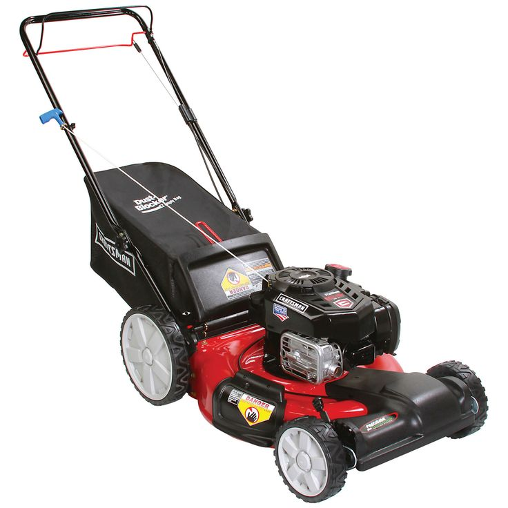 You will be pleased with the features of this Craftsman Push Lawn Mower
