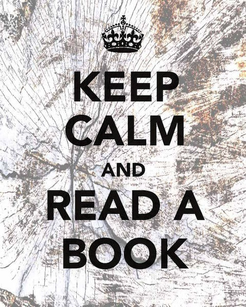 Keep Calm and Read a Book, a message from Xlibris Publishing