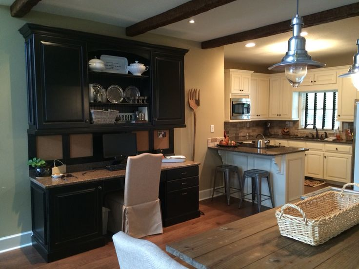 office kitchen dining combo area for the lake house