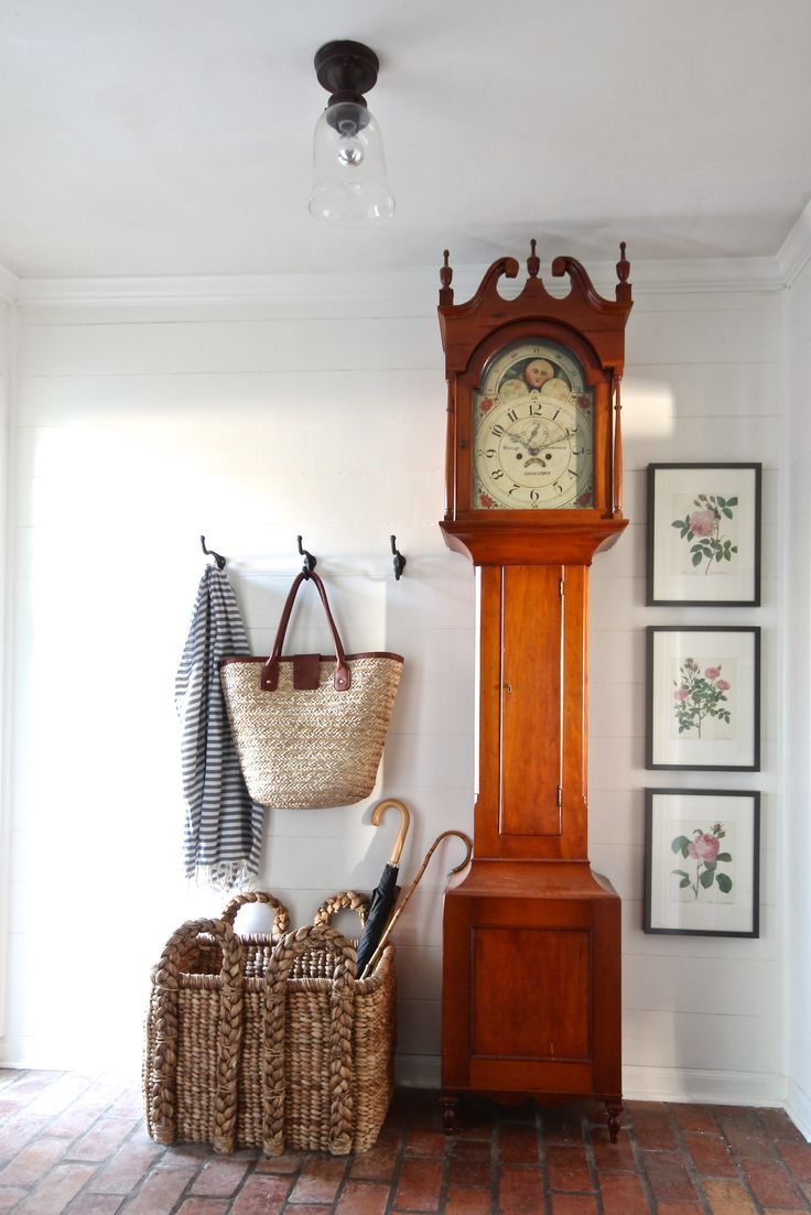 Superior The Idea Of This For My Foyer Using More Modern Clock. Holly Mathis  Interiors: Young Houston Familyu0027s Home