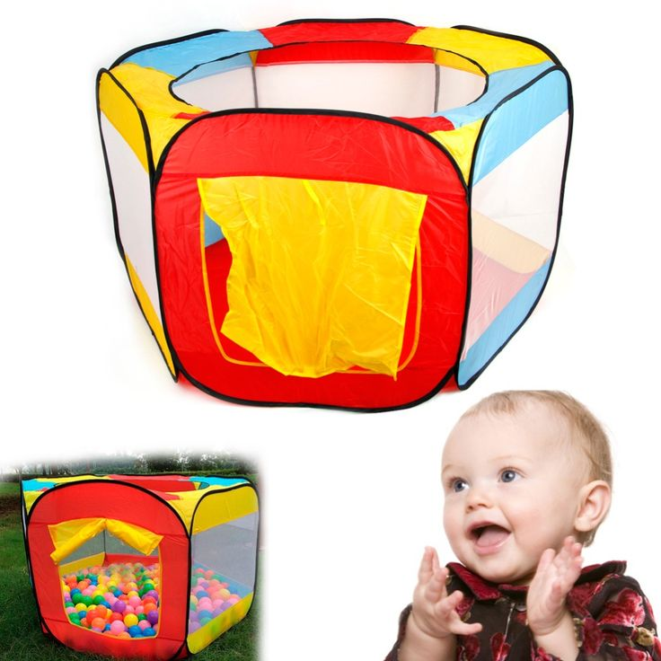 1PC Funny Children Kids Play House Indoor Outdoor Easy Folding Ball Pit Hideaway Tent Furniture Home Decor