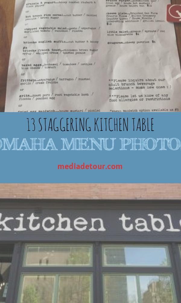 13 Staggering Kitchen Table Omaha Menu Photos Kitchen Table Kitchen Photos Kitchen Table Settings