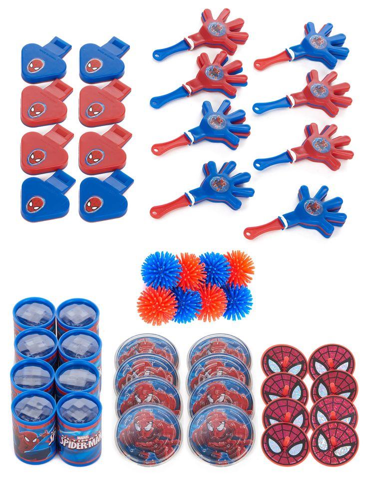 48 Gadget Spiderman Su Vegaooparty Negozio Di Articoli Per Feste Scopri Il Maggior Catalogo Di Add Feste Di Compleanno Per Bambini Festa Feste Di Compleanno