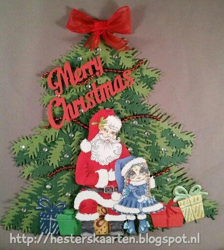 Kerstboom kaart my Besties