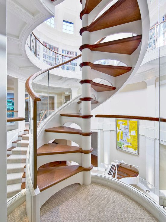 17 best images about staircases on pinterest floating for Different stairs design