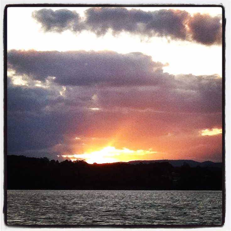 Just another lovely sunset on Lake Macquarie