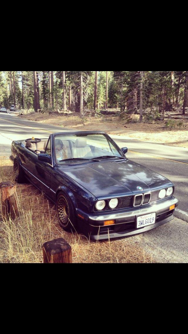 Bmw E 30 cabrio # anni '80 # ❤️
