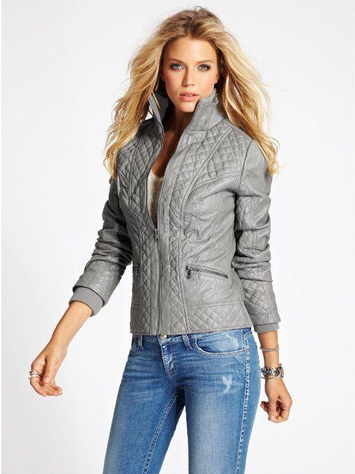 GUESS Women's Berlin Jacket: Clothing | Clothe Me | Pinterest