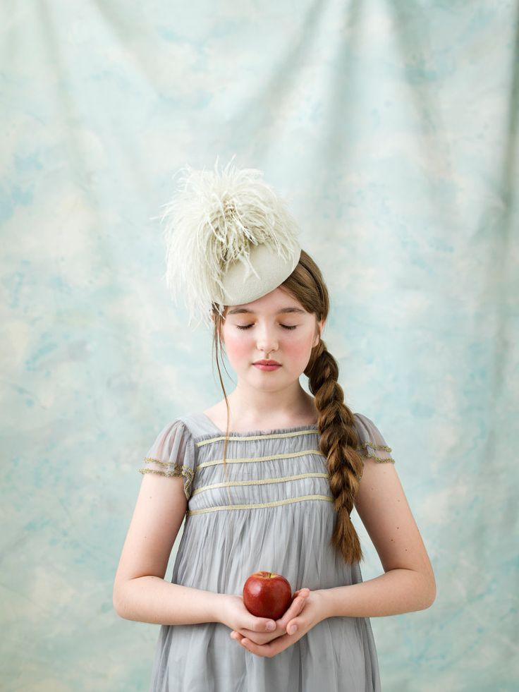 Stone 'Betsy' hat. Handmade hat by fifilabelle, London. Photo by Julia Boggio. www.fifilabelle.com
