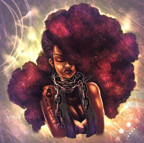 FEATURE: The Futuristic Imaginings of Illustrator Amber Peoples – AFROPUNK