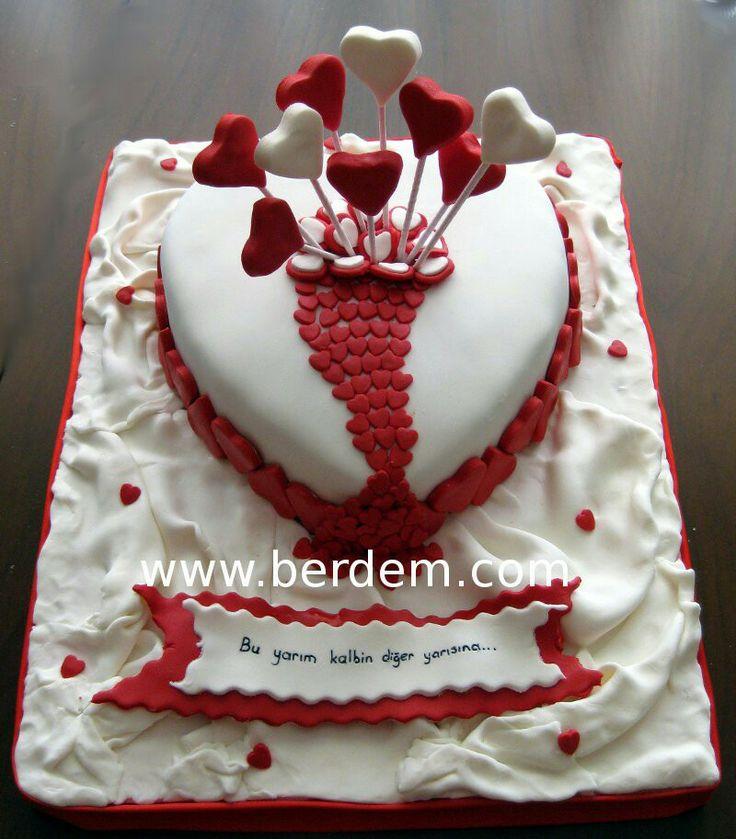 Sevgililer günü pastası 09