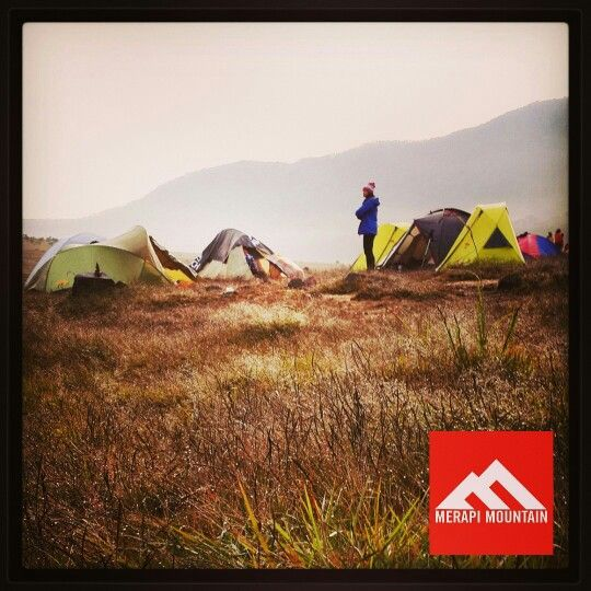 Merapi Mountain tent provide a comfy with reasonable price. www.merapimountain.com