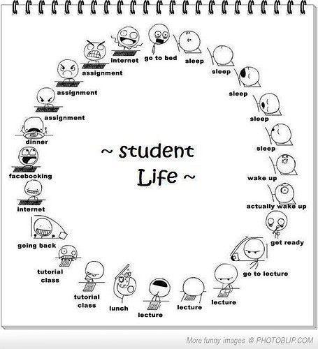 Student life / Vida de estudante