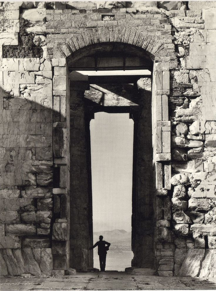 From the Parthenon, 1900 Fred Boissonnas
