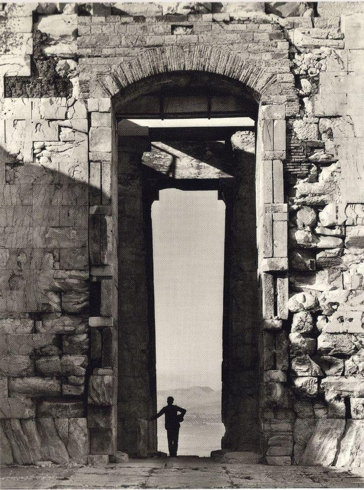 From the Parthenon, 1900 Fred Boissonnas