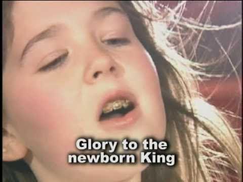 Christmas Songs - Hark the Herald Angels sing [with lyrics]