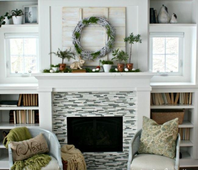 les 75 meilleures images du tableau dessus chemin e sur pinterest chemin es belle maison et. Black Bedroom Furniture Sets. Home Design Ideas