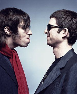 Q 300th issue: Liam and Noel Gallagher