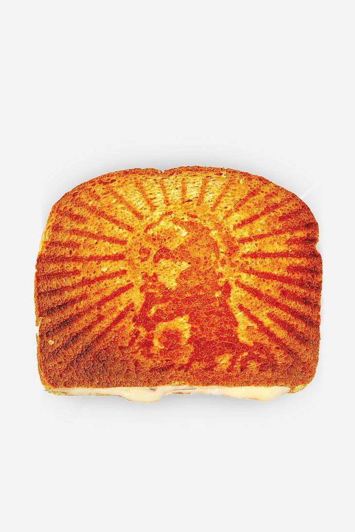 Grilled Cheesus Sandwich Press... Genius.
