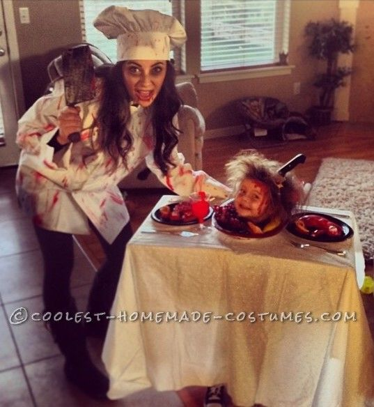 macabre chef and her best dish yet costume halloween costume contestscary - Best Scary Halloween Costume