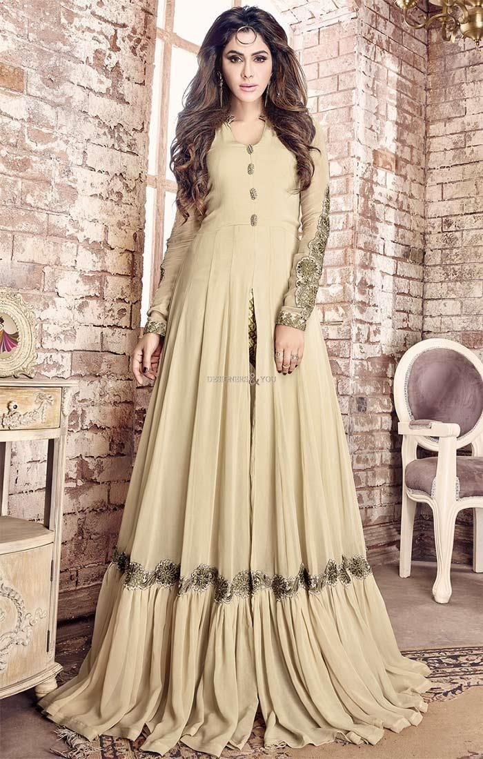 http://www.designersandyou.com/dresses/designer-dresses/beguiling-beige-stone-worked-georgette-indo-western-dress-for-girls-5211