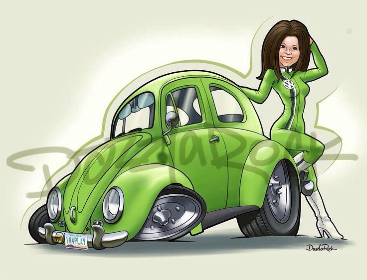 VW beetle commission.