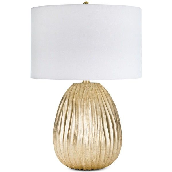 Regina Andrew Design Dune Table Lamp (3.480 DKK) ❤ liked on Polyvore featuring home, lighting, table lamps, gold, gold lamp, metallic lamp, shimmer lights, gold lighting and regina andrew design