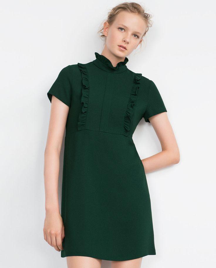 SHORT SLEEVE DRESS-Mini-Dresses-WOMAN | ZARA Andorra