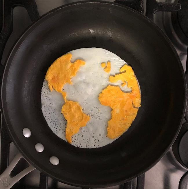 Yumurta ile Muhteşem Eserler Oluşturan Sanatçıdan 20+ Çalışma | Sanatlı Bi Blog