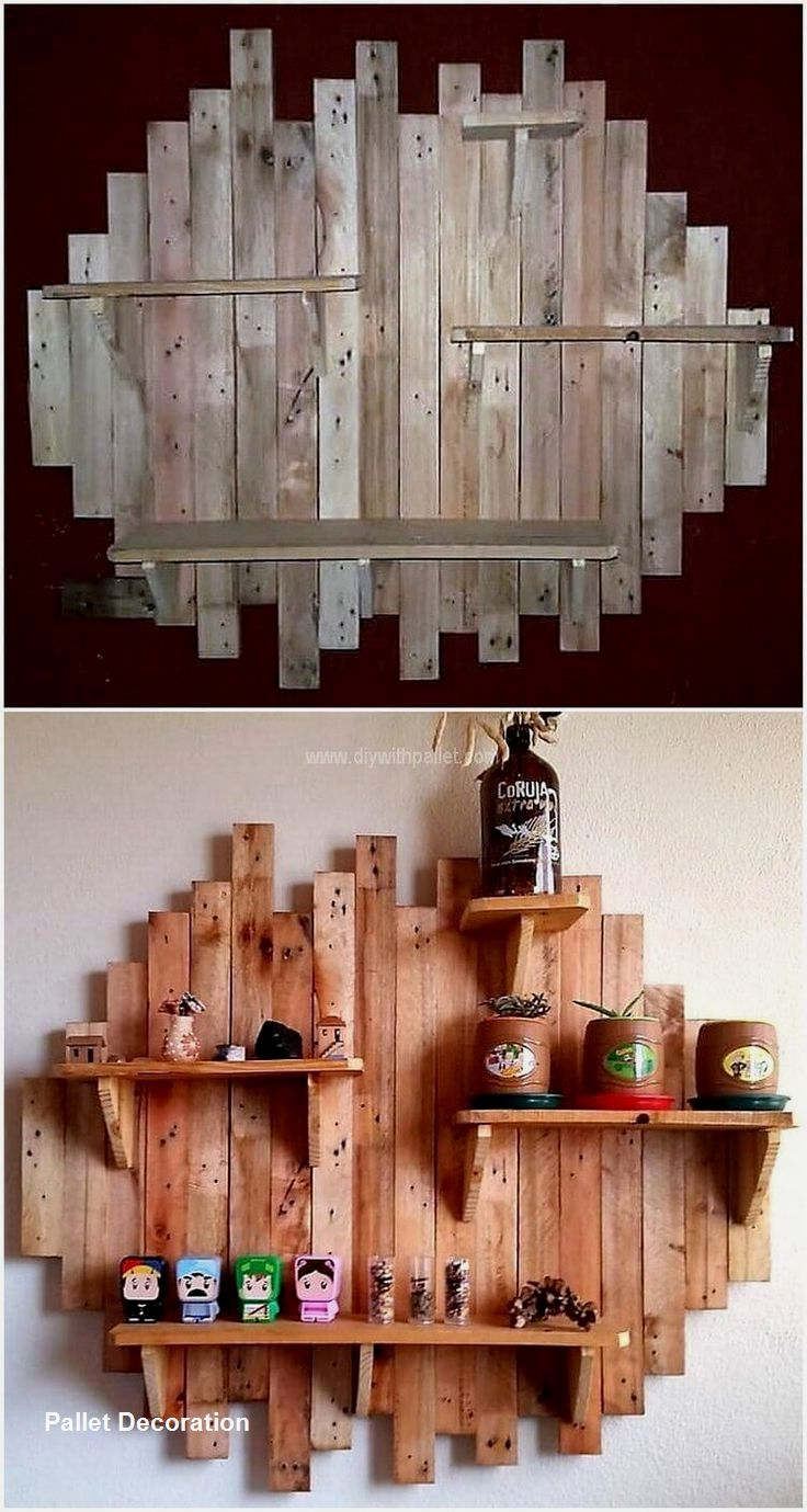 Amazing Cost Effective And Easy Diy Wall Crafts For The Beginners Craftspost Diy Wood Pallet Projects Pallet Home Decor Pallet Wall Decor