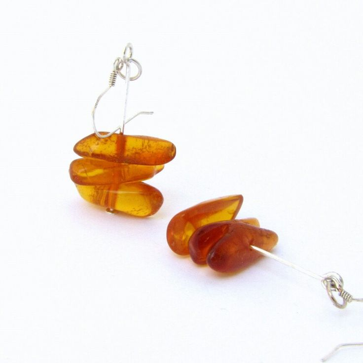 Baltic amber earrings for you:)