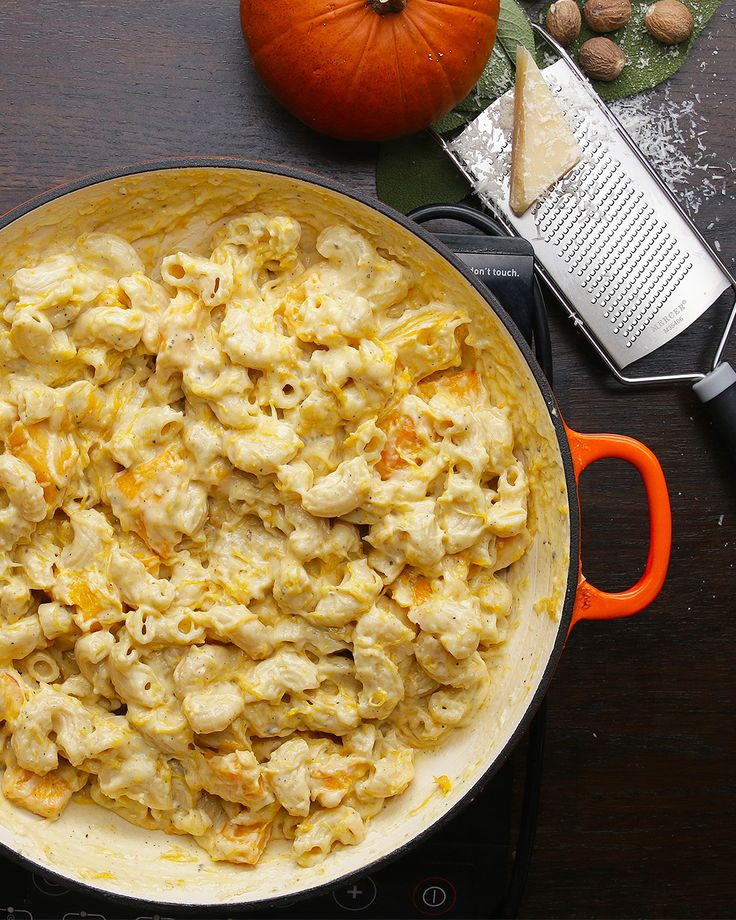Pumpkin Mac 'n' Cheese Recipe by Tasty