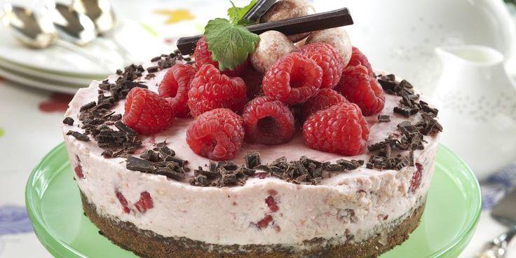 FRISK OG FARGERIK: Bringebær og sjokolade er en uslåelig kombo.