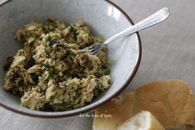 tuna spread - tonijn spread