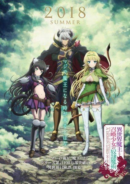 Maou anime list
