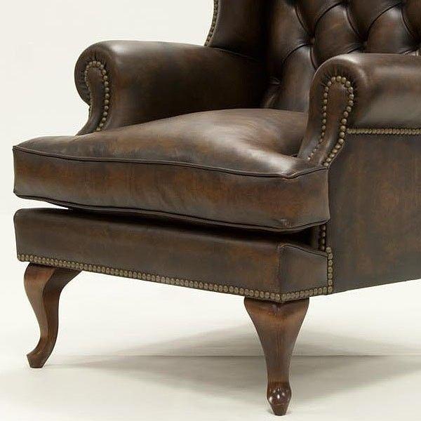 Mejores 12 im genes de sofas y butacas de piel en - Sillon estilo provenzal ...