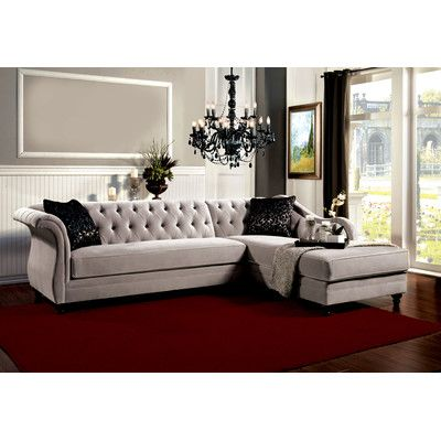 Best 25 tufted sectional ideas on pinterest tufted for Channel 7 living room