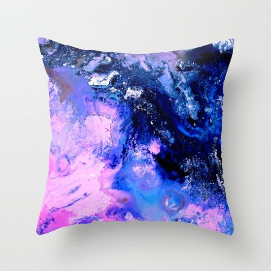 Buy Milky Way Throw Pillow by Jazzyinked at Society6