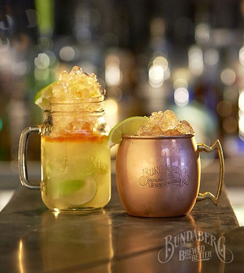 Have you tried a Caribbean Mule? See what else Bundaberg Brewed Drinks mixologists have been brewing.