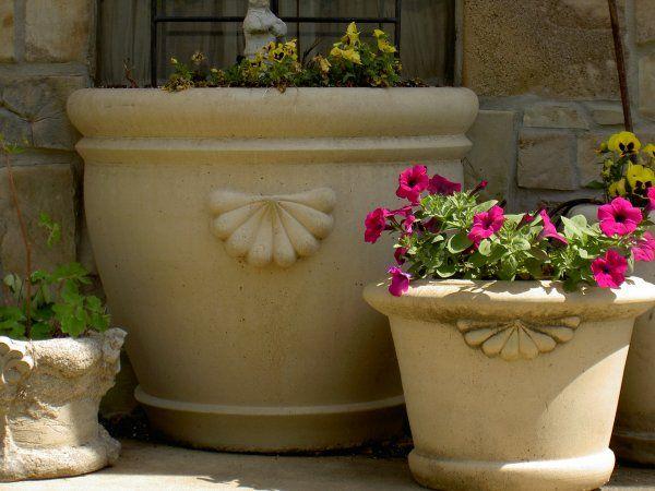 Fancy flower pots my style pinterest planters the o for Fancy flower pots