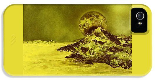 Golden Shore IPhone 5 / 5s Case Printed with Fine Art spray painting image Golden Shore by Nandor Molnar (When you visit the Shop, change the orientation, background color and image size as you wish)