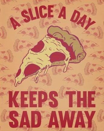 A slice a day keeps the sad away! Visit: peopleschoicepizza.com to order your pizza now! #georgia #newnan #pizza