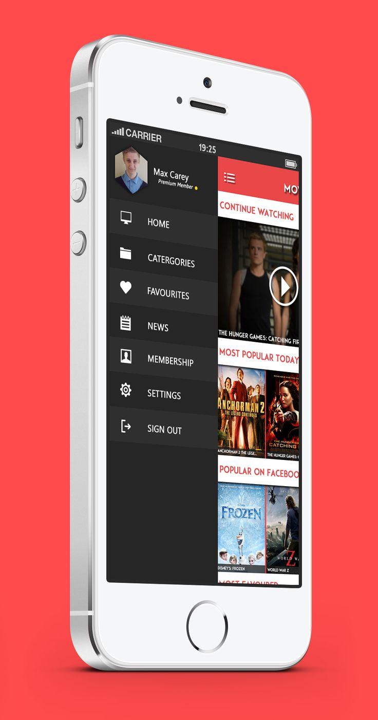 MovieBox App Concept on Behance