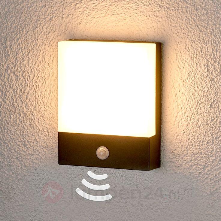 Bele - LED outdoor wandlamp met sensor veilig & makkelijk online bestellen op lampen24.nl