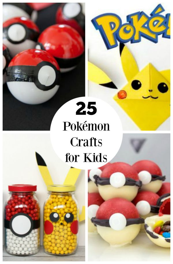 17 best ideas about pokemon craft on pinterest pikachu - Different craft ideas for kids ...