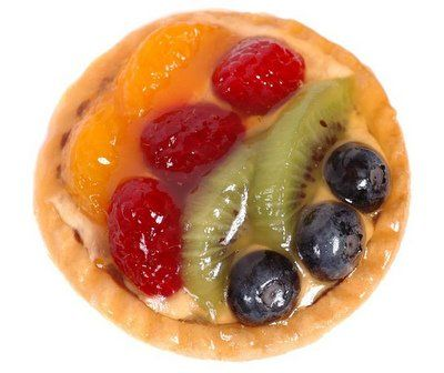 Easy fresh fruit tart recipe this eye catching dessert or for Easy fruit tea recipe